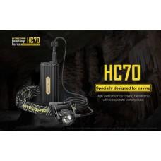 Налобный фонарь Nitecore HC70