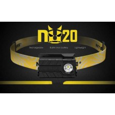 Налобный фонарь Nitecore NU20 CRI Rechargeable Headlamp