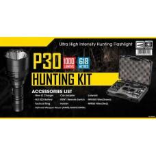 Комплект Фонарь для охоты для охоты Nitecore P30 HUNTING KIT
