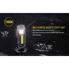 Налобный фонарь, магнитный Nitecore T360M