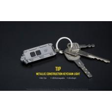 Миниатюрный наключник - фонарь Nitecore TIP CRI тёплый свет
