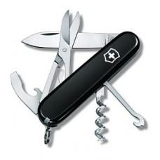 Складной нож Victorinox 1.3405.3 Compact black (черный), 91 мм