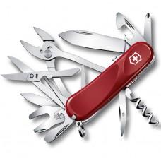 Карманный нож - мультитул Victorinox 2.5223.SE Evolution S557, 85 мм, 21 в 1, красный