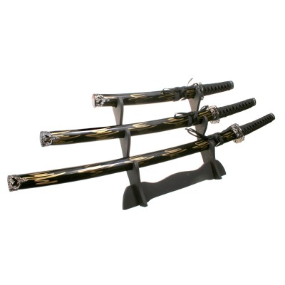 Набор из 3-х самурайских мечей D50016