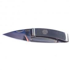 Нож с зажимом для денег Mcusta (серебристый)