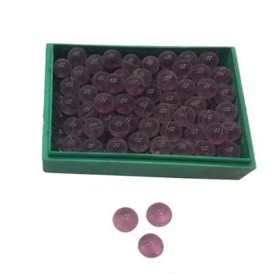 Шарики для рогатки стеклянные фиолетовые, диаметр 8 мм (100 штук)
