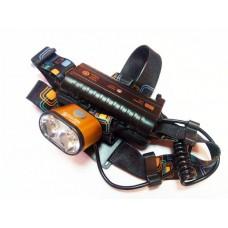 Налобный фонарь Поиск K28-2xT6