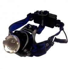 Налобный фонарь с бесконтактным сенсором Поиск P-6889