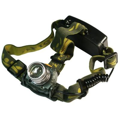 Налобный фонарь с бесконтактным сенсором Поиск P-6616