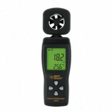 Анемометр AS-816 - прибор для измерения скорости ветра (воздушного потока)