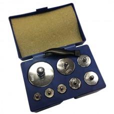 Контрольные гирьки для взвешивания 8 шт - 1000 грамм / 1 кг