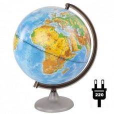 Глобус физический (диаметр 250 мм, подсветка)