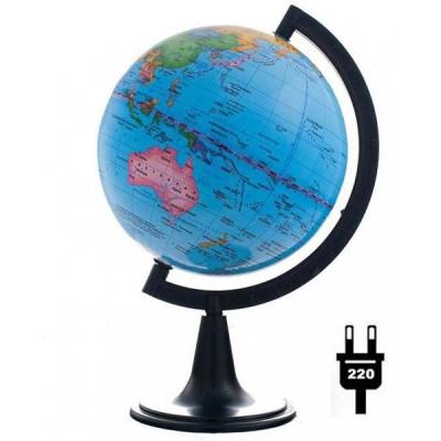 Глобус политический (диаметр 150 мм, подсветка)
