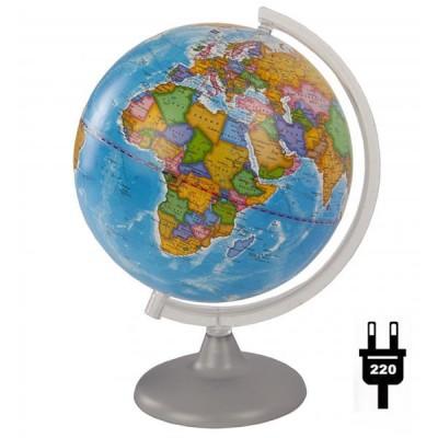 Глобус политический (диаметр 250 мм, подсветка)