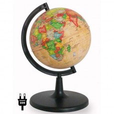 Глобус политический ретро (диаметр 150 мм, подсветка)