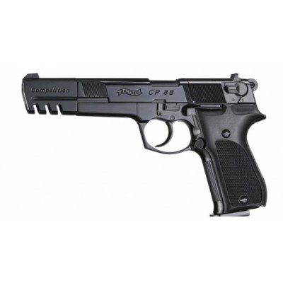 Пневматический пистолет Umarex Walther CP88 Competition Black