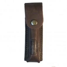 Чехол кобура под запасной магазин (коричневый, 13х3x2,5 мм)