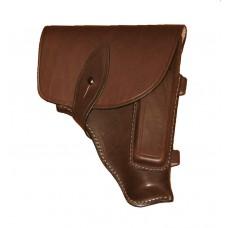 Штатная кобура для пистолета ПМ, натуральная кожа (коричневая)