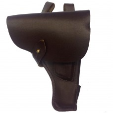 Штатная кобура для пистолета ТТ, натуральная кожа (коричневая)
