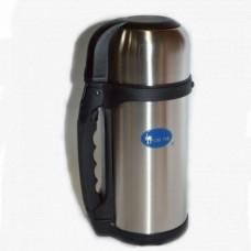 Термос туристический на 1,5 литра, Luotuo Верблюд (широкое горло; PT-SVF-1500H2RB)