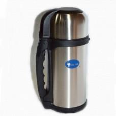 Термос туристический на 1,2 литра, Luotuo Верблюд (широкое горло; PT-SVF-1200H2RB)