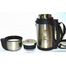 Термос туристический на 0,75 литра, Luotuo Верблюд (широкое горло; PT-SVF-750H2RB)