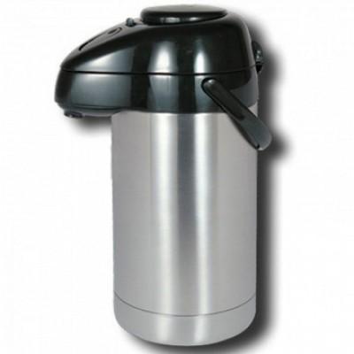 Термос автоматический помповый (насос) на 3 литра, Luotuo Верблюд (PT-SVAP-3000E-C)