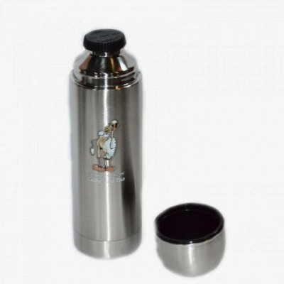 Термос туристический на 1 литр, Luotuo Верблюд (широкое горло; PT-SVF-1000R4)