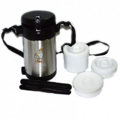 Термос пищевой на 1,5 литра, Luotuo Верблюд (широкое горло; PT-SVJ-1500D)