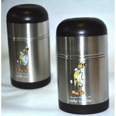 Термос туристический на 0,5 литра, Luotuo Верблюд (широкое горло; PT-SVF-500H2RA)