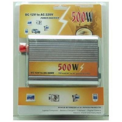 Автомобильный инвертор 500 Вт 12-220В