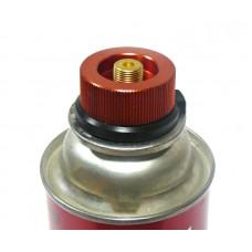 Переходник - адаптер c резьбового стандарта (epi-gas) на высокий цанговый газовый баллон