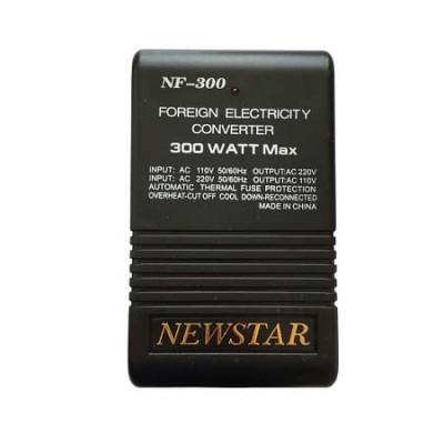 Конвертер-трансформатор Newstar NF-300 110V-220V (повышающая / понижающая функция Reverso)
