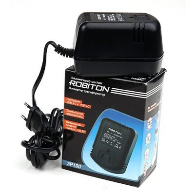 Адаптер - конвертер - трансформатор 220В-110В Robiton 3P100