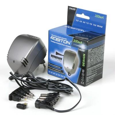 Адаптер - блок питания 220В 12В-3В Robiton DN500