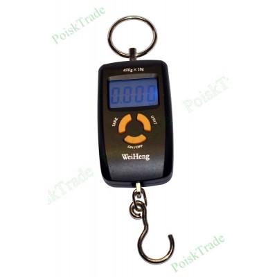 Портативный электронный безмен до 45 кг