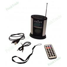 Радиоприемник и mp3 плеер с поддержкой usb, sd, mmc