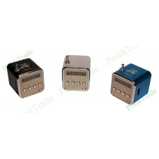 Радиоприемник куб с функцией mp3 плеера c поддержкой USB, SD, TF