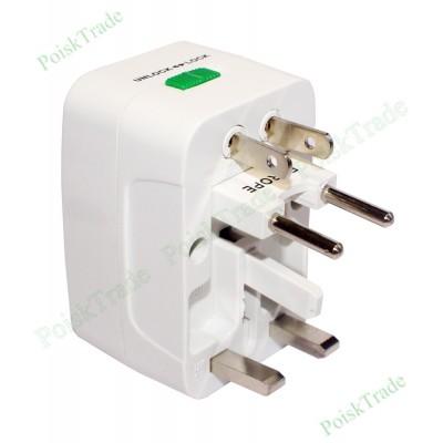 Универсальный переходник для электросетевых розеток