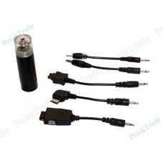 Зарядное устройство от пальчиковой АА батарейки для мобильных устройств