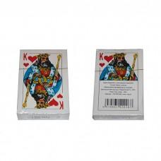 Карты игральные с пластиковым покрытием 52 карты