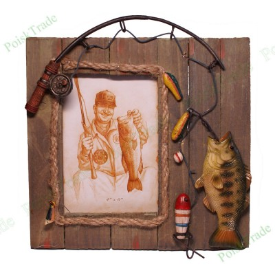 1. Фоторамка 10x15 - Улов рыбака