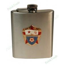 2 Подарочная фляга (199 мл) - ВМФ СССР