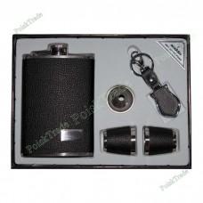 20. Подарочный набор Аладдин - Фляга, воронка, 2 стакана, брелок