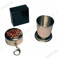 3. Походный раскладной стаканчик 150 мл - Герб Российской Федерации