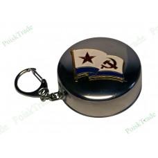 4. Походный раскладной стаканчик 75 мл - Военно-морской флаг СССР