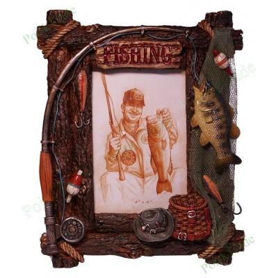 9. Фоторамка 10x15 - Рыбалов