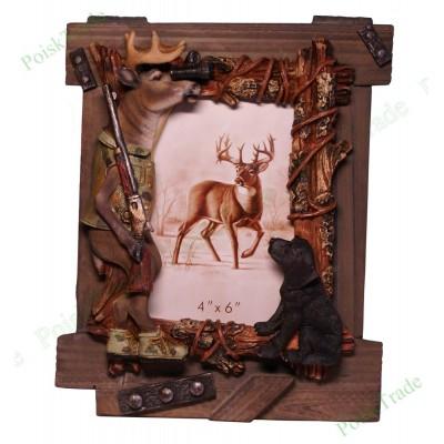 Фоторамка 10x15 - Олень на охоте
