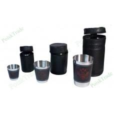 Комплект сувенирных походных стаканчиков (в ассортименте)