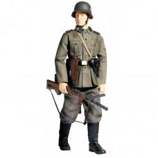 Модель - фигура ''Lothar Kroh'' солдата 1 батальона 1-й танковой дивизии СС «Лейбштандарт адольф Гитлер», Dragon